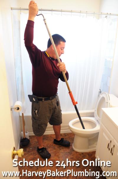plumbing toilet snake repair orlando
